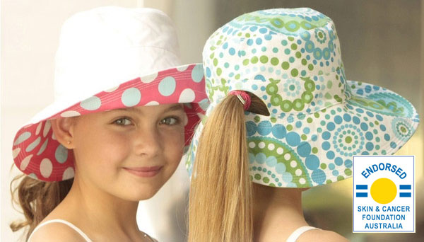 UVカット帽子・子供用リバーシブルタイプ画像