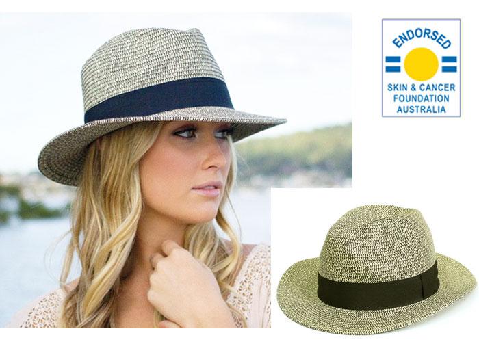 UVカット帽子・ストローハット画像