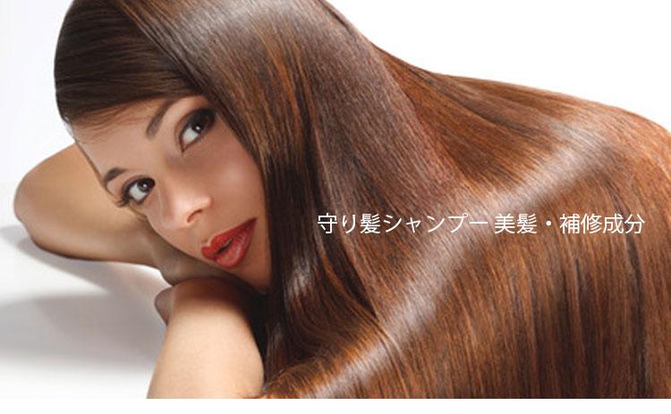守り髪シャンプー・美髪&補修成分