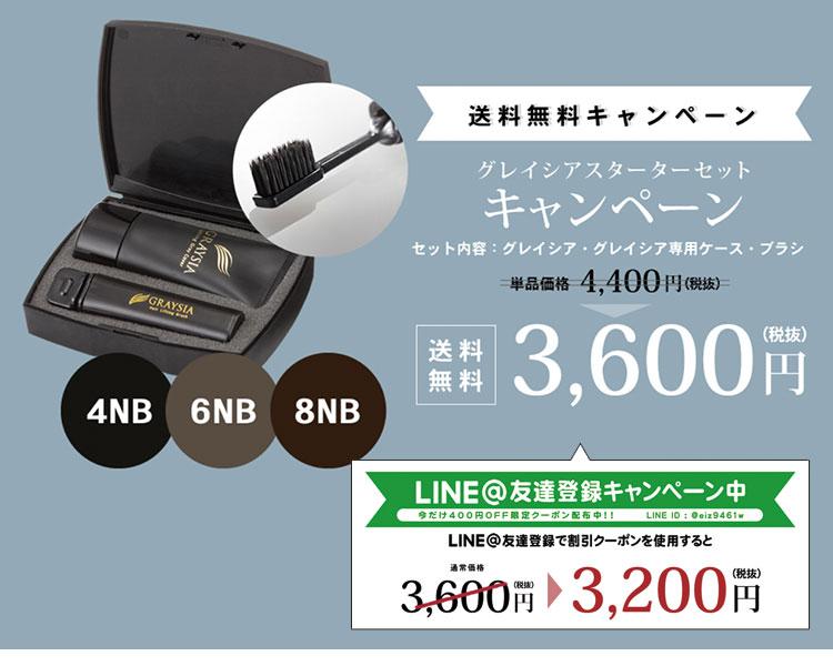 グレイシアスターターセットの写真と値段