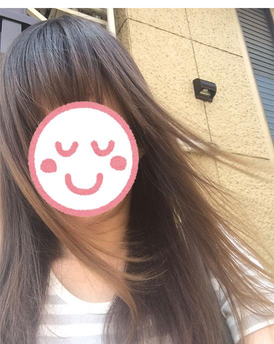ルメントUVスプレー・髪の毛に使用した写真3