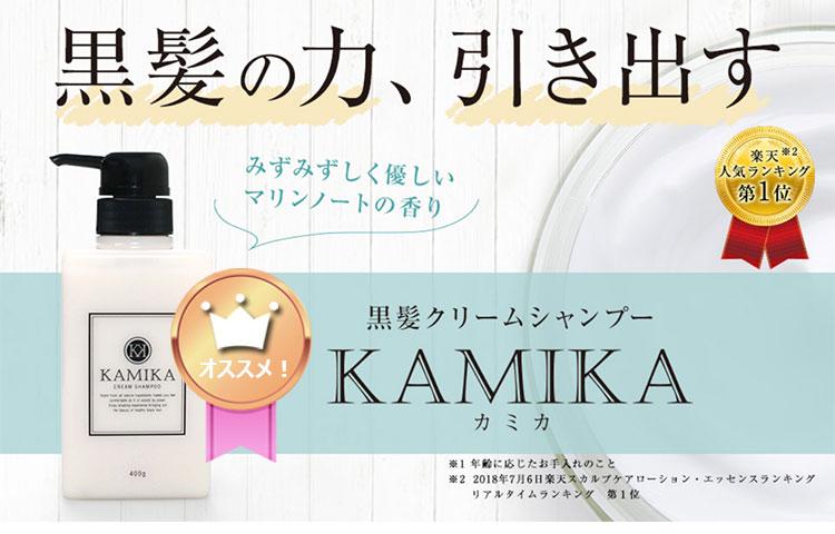 KAMIKA(カミカ)クリームシャンプー(泡立たないシャンプー)商品画像