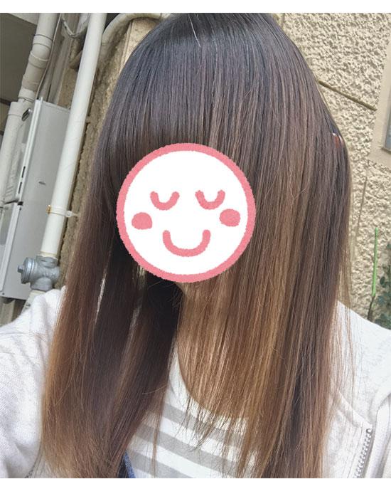 KAMIKA(カミカ)シャンプー使用時の写真