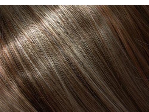 ウィービング(ハイライト)した髪の画像