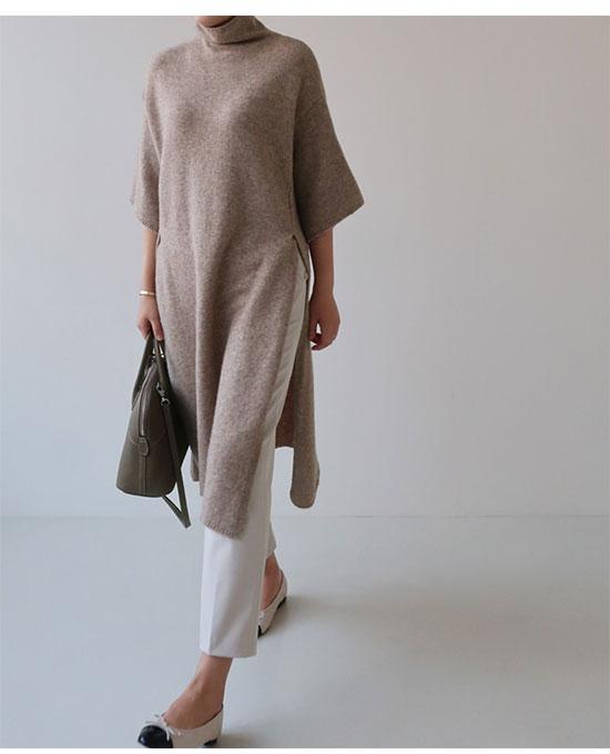 グレイヘアに似合うファッション(デザイン)1