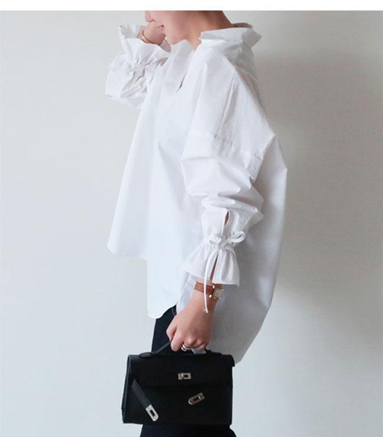 グレイヘアに似合うファッション(小物)1