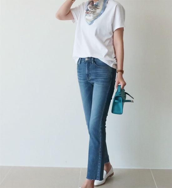 グレイヘアに似合うファッション(小物)2