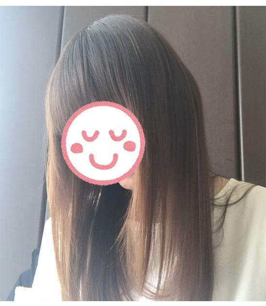 アクティバート・SCスカルプローション使用後の髪2¥