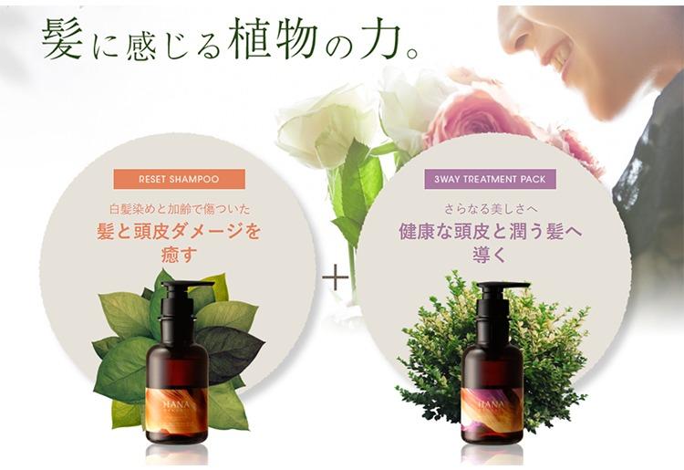 弱った頭皮を癒やす植物の力・イメージ