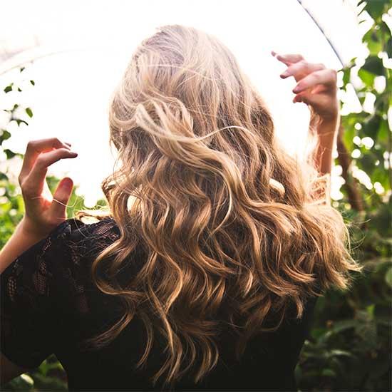 波状毛(はじょうもう)のヘアスタイル・イメージ画像