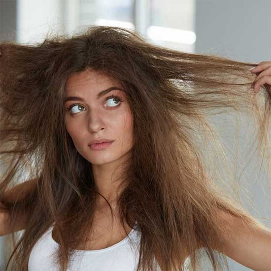 捻転毛(ねんてんもう)のヘアスタイル・イメージ画像