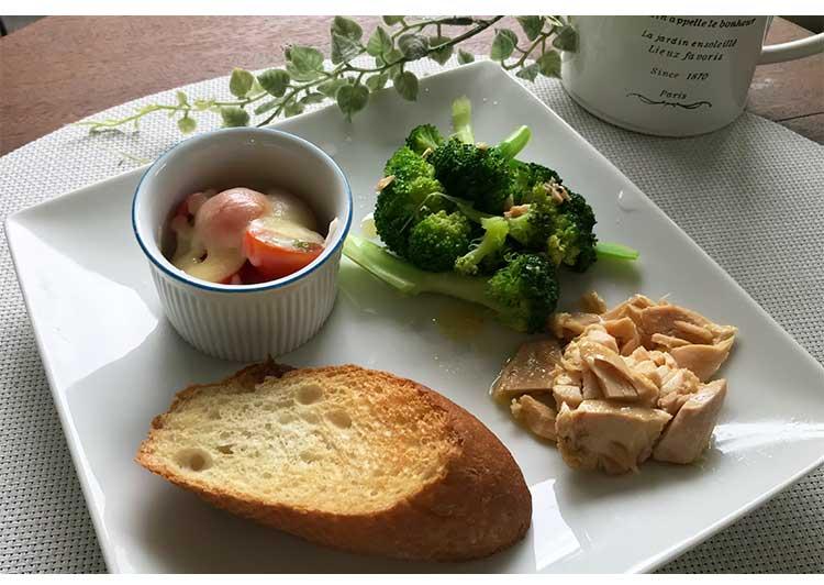 料理例・ツナ缶軽食の画像